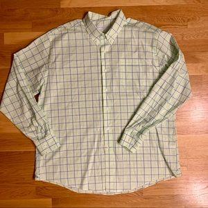 Southern Tide Shirts - Southern Tide Plaid Classic Fit Sport Shirt